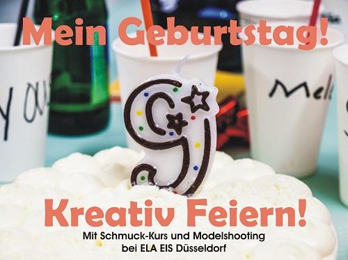 Deinen Kindergeburtstag mit Schmuckparty und Fotoshooting in Düsseldorf feiern!