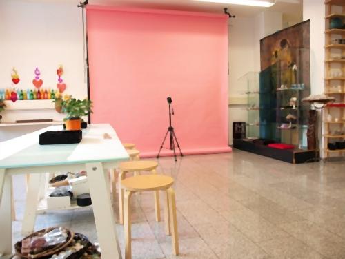 Fotoshooting im Partyraum ELA EIS Düsseldorf Lokation
