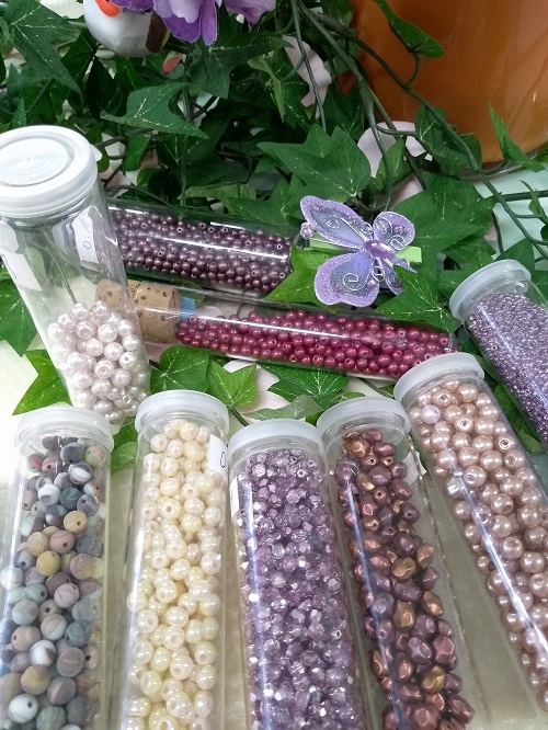 Perlenladen Düsseldorf perlenreiches Glasperlen Angebot