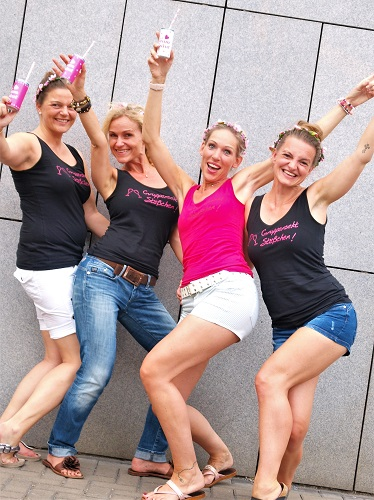 junggesellinnenabschied freundinnen Gruppen Fotoshooting duesseldorf