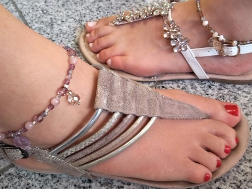 Armband & Fußkettchen Workshop Perlenladen Düsseldorf