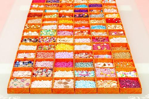 Über 600 verschiedene Perlen zur Auswahl!