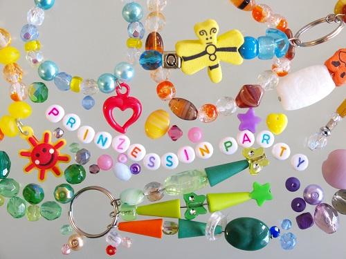 Perlenladen Düsseldorf perlenreicher Kindergeburtstag Prinzessin