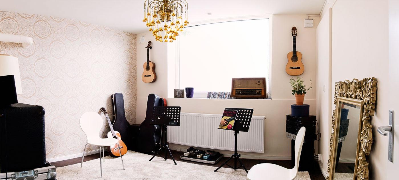 Musikzimmer Winterhude - Musikunterricht in Hamburg