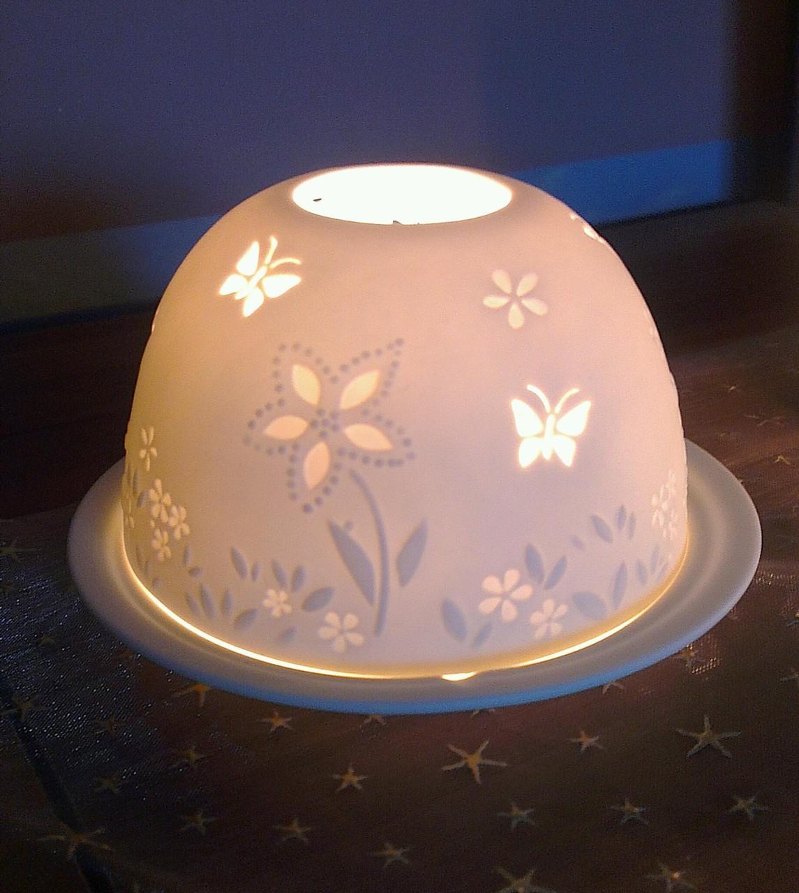 bezauberndes Kerzenlicht