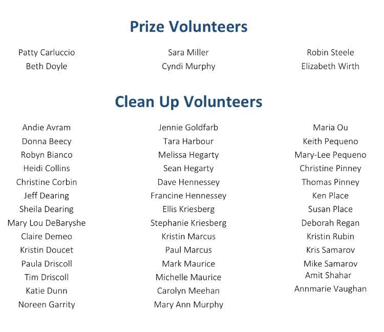 Even More Volunteers