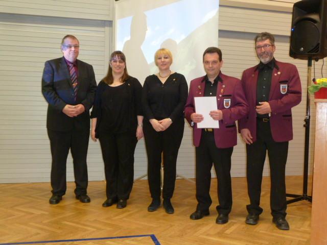 Ehrungen 2016 - Musikverein Helmsheim