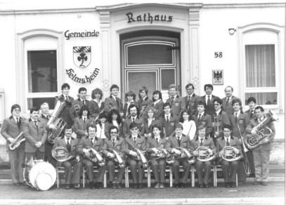 Musikverein Helmsheim 1983