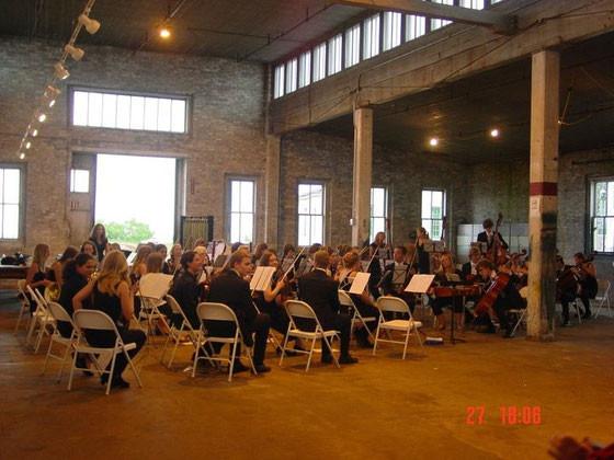 Das Konzert in Kewaunee