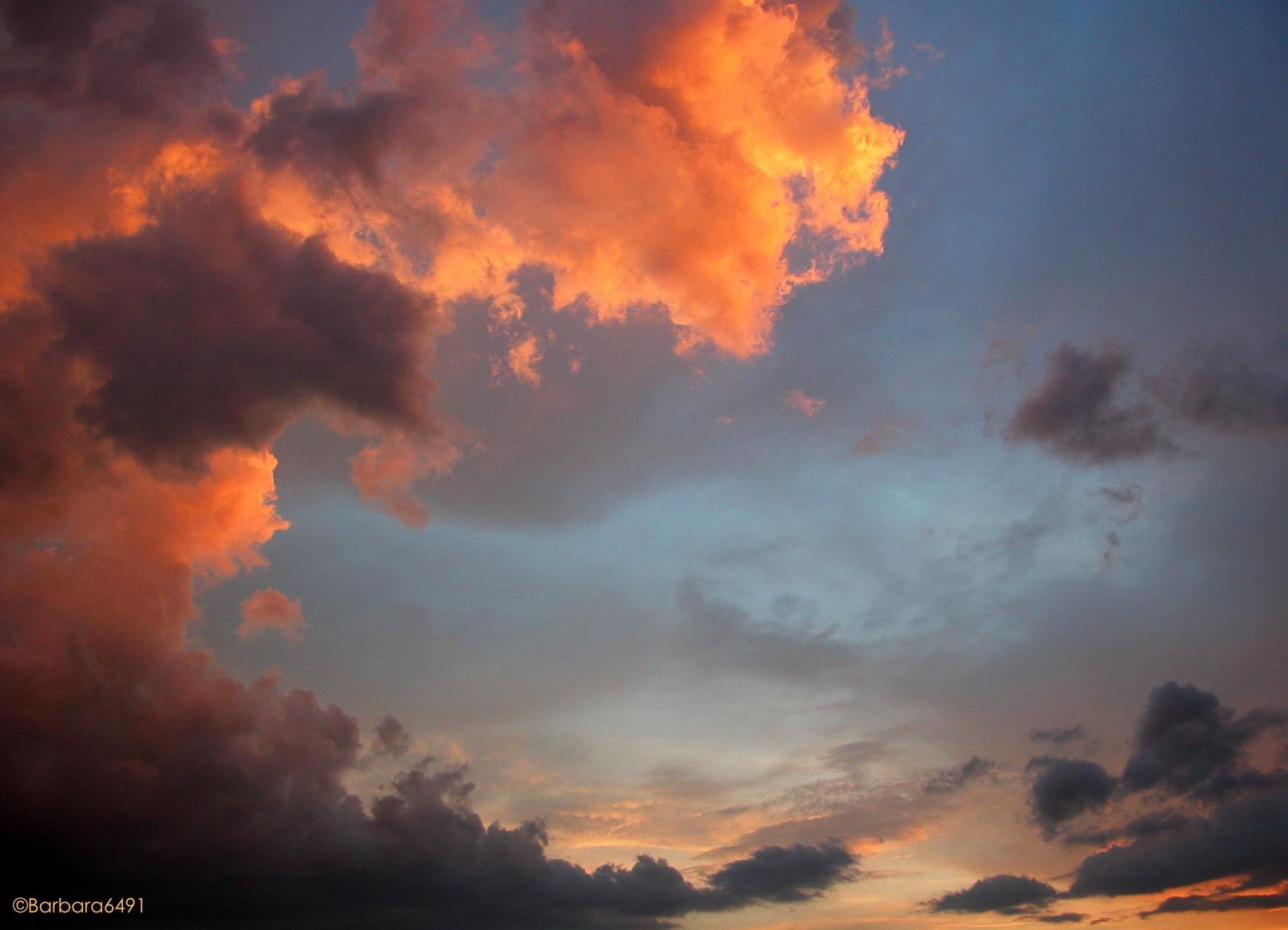 Wenn ich eine Wolke wäre, würde ich gerne so aussehen...