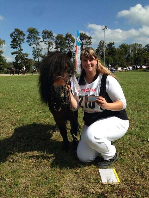 Nationale Ponyschau Aarberg 2014, 1. Rang