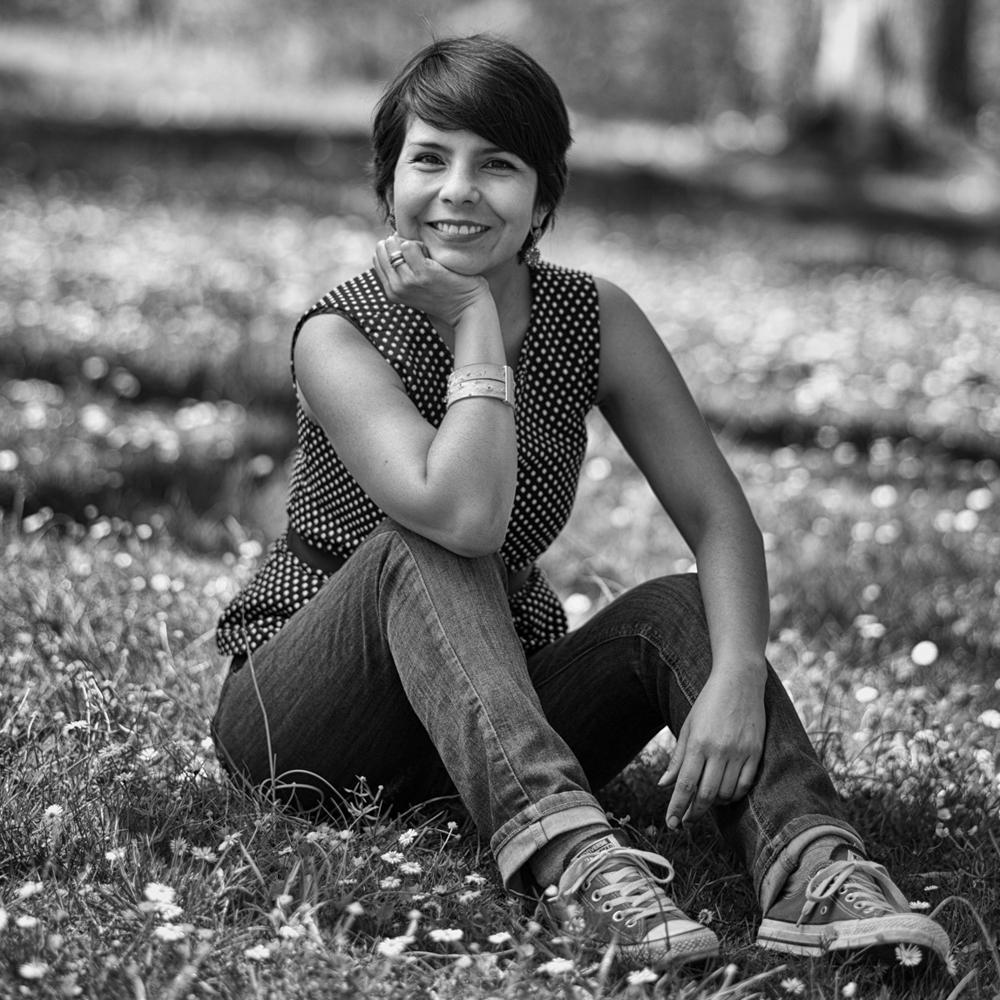 Porträt, Frau, Outdoor, Fotograf Weimar, Leica M