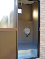 トイレハウス内の様子(設置例)