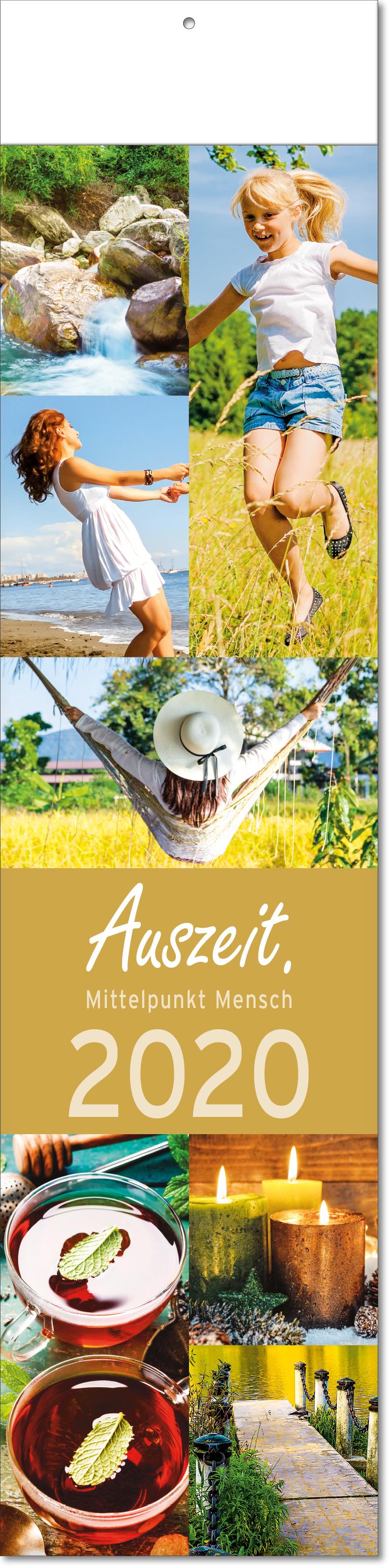 """Bild- Streifenkalender """"Auszeit"""" 2019"""