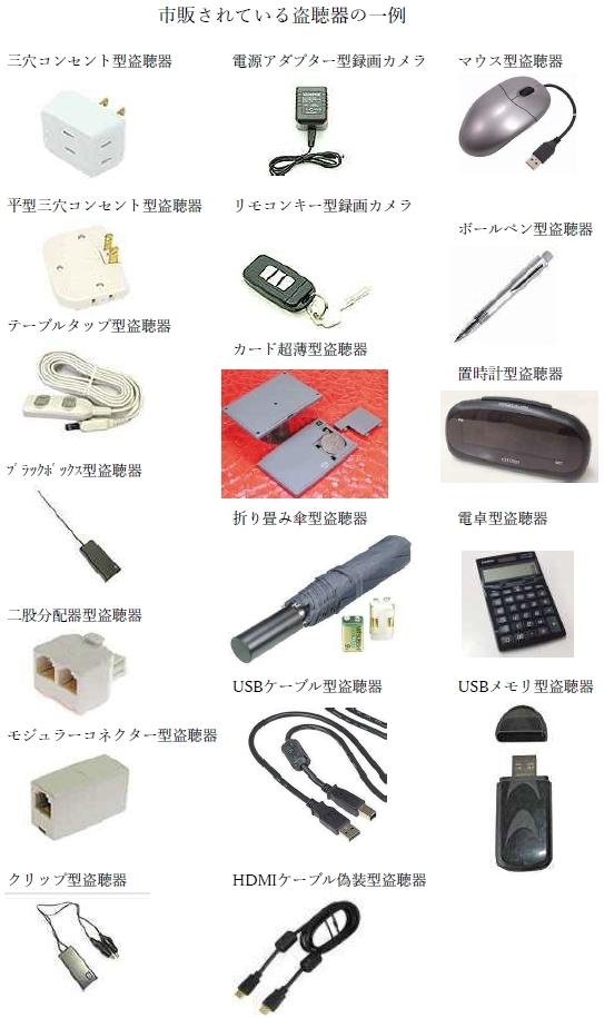 盗聴器はネット通販や秋葉原電気街等で販売されており、誰でも簡単に ...