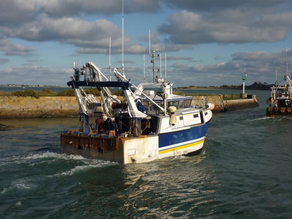 pêche à Saint-Vaast