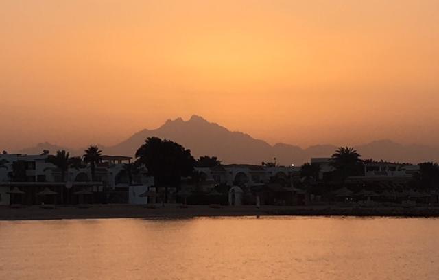 freaky finance, Meer, Sonnenuntergang, Ägypten, Makadi Bay, Sonnenuntergang über der Makadi Bucht