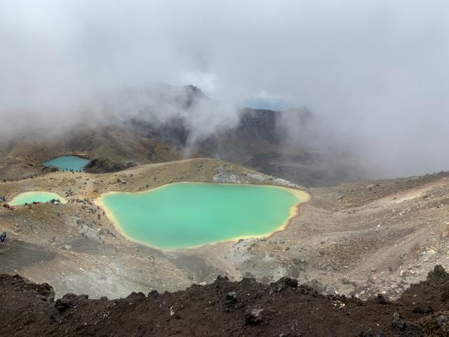 Die 5 Top Tipps für Neuseelands Nordinsel. TOP 2: Tongariro Alpine Crossing