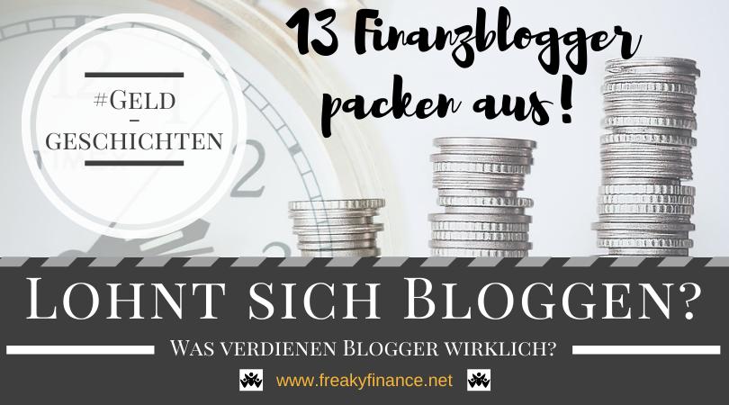 Was verdienen (Finanz)Blogger 2020/2021?