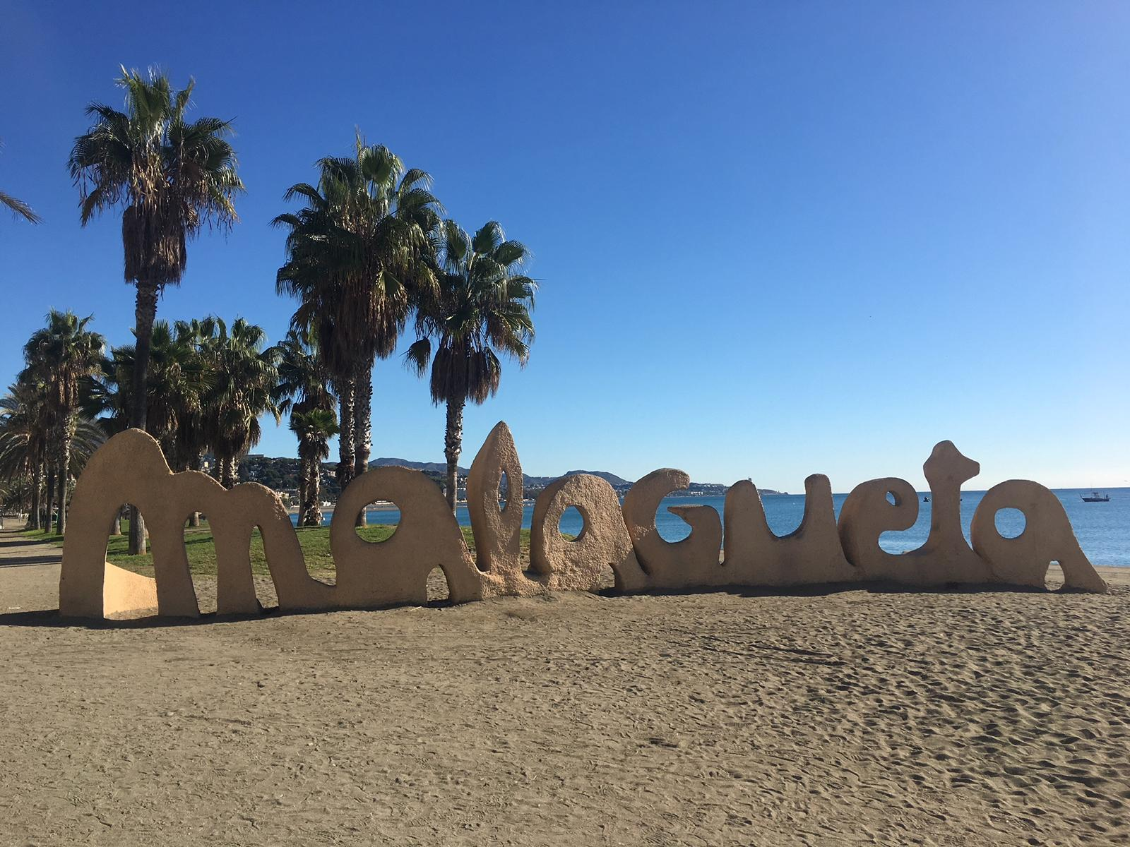 Strand in Malaga