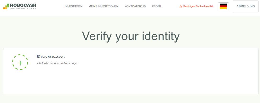 Schritt 4 - persönliche Identifikation