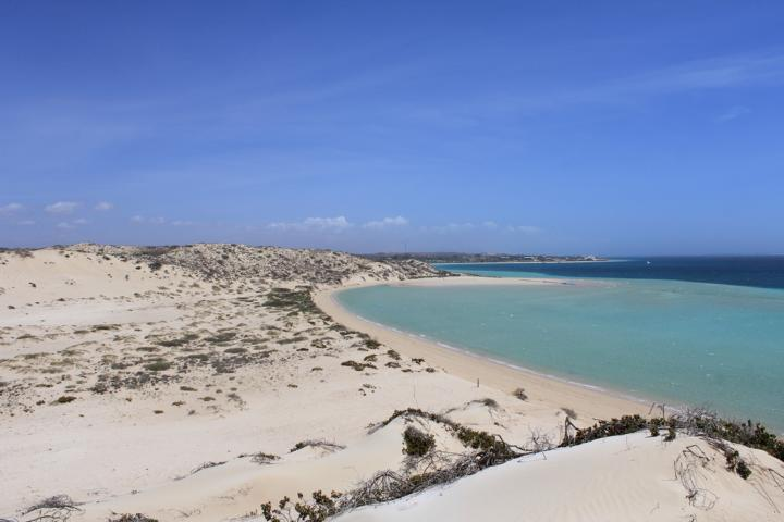 Coral Bay ist ein kleiner Ort an der Küste von Western Australia