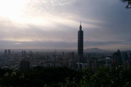 freaky travel, Reisen, TOP 5, Asien, Taiwan, Insel, Toptipps, Teipei, Skyline, City, Sonnenuntergang, Stadt, Abend
