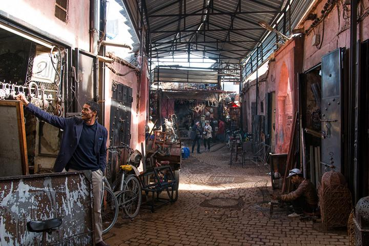 Marktplatz in Marrakesch