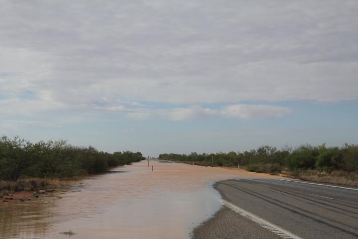 Land unter in Australien