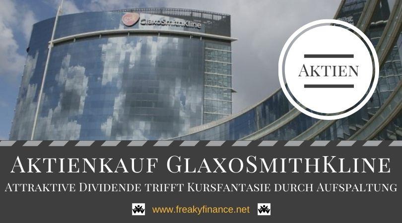 Zuwachs im Depot: Aktienkauf GlaxoSmithKline plc (GSK)