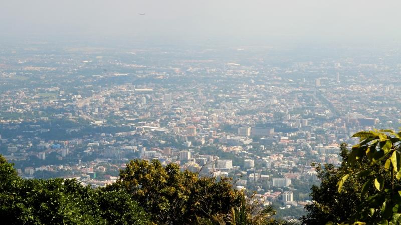 toller Blick auf die Stadt