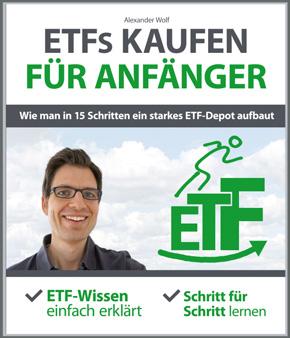Cover Buch ETFs kaufen für Anfänger