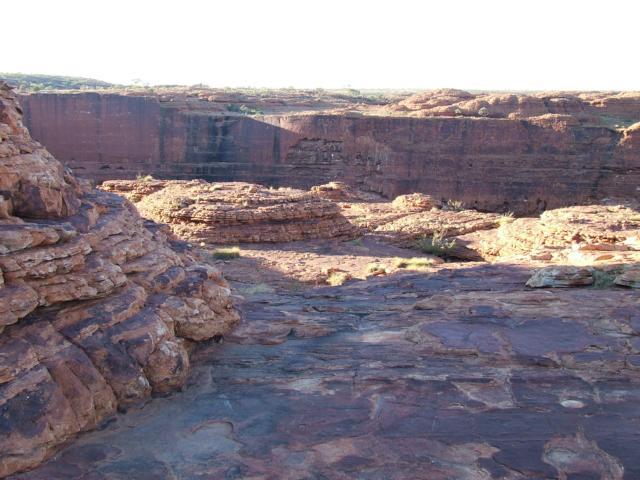 Eine atemberaubende Marslandschaft