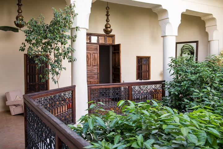 Wohnen in einem Riad