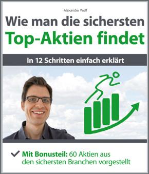 Cover Buch Wie man die sichersten Top-Aktien findet