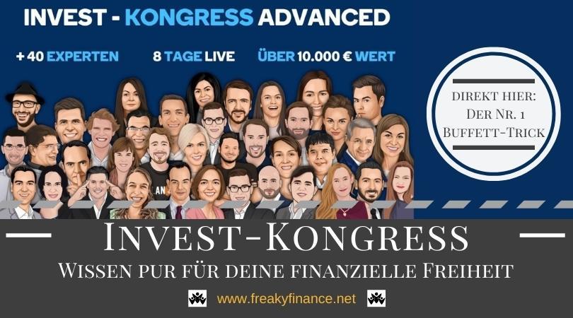 freaky finance + 40 Speaker auf dem Invest-Kongress