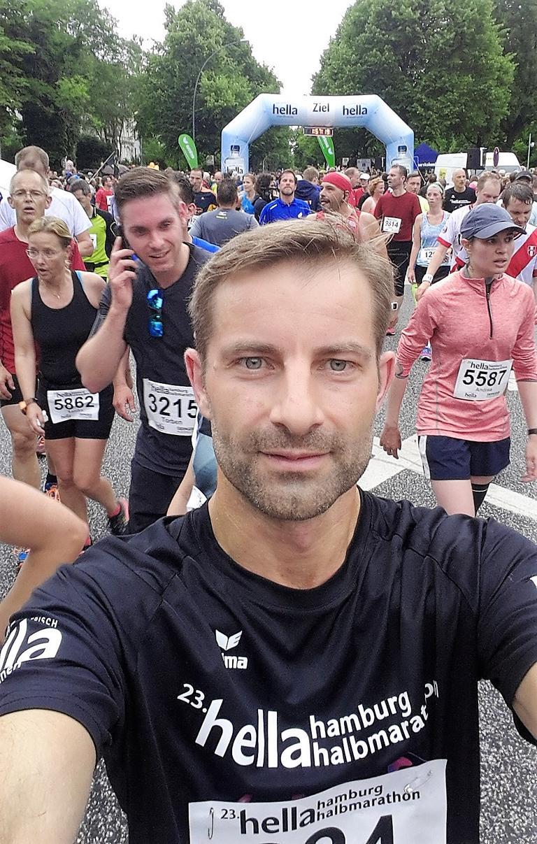 Hella Halbmarathon in Hamburg im Juni 2017