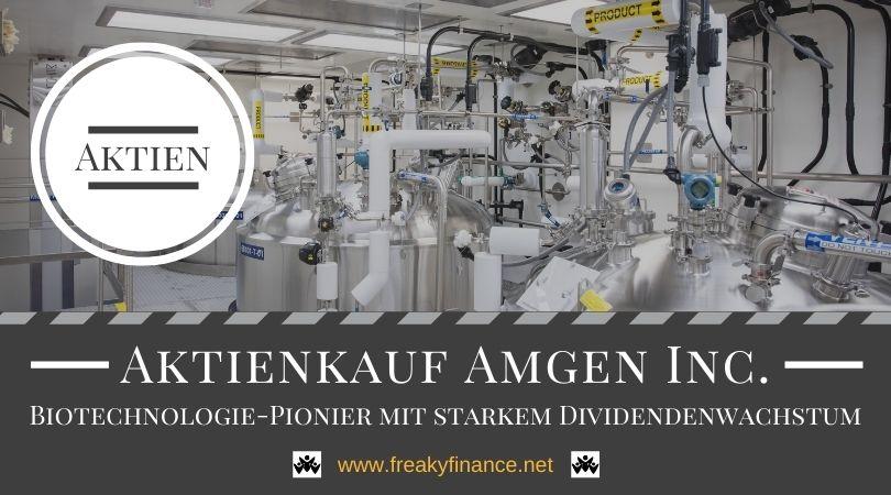 Zuwachs im Depot: Aktienkauf Amgen Inc.