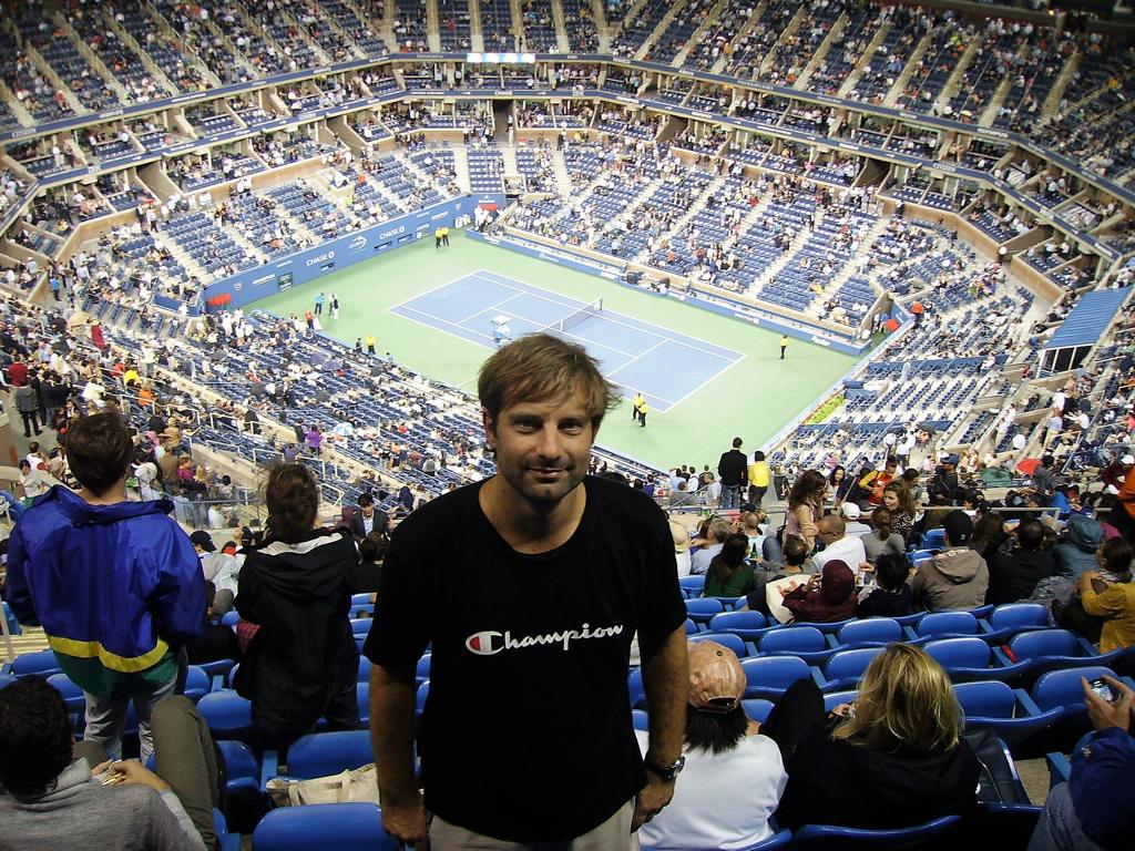 US Open im Arthur Ashe Stadium