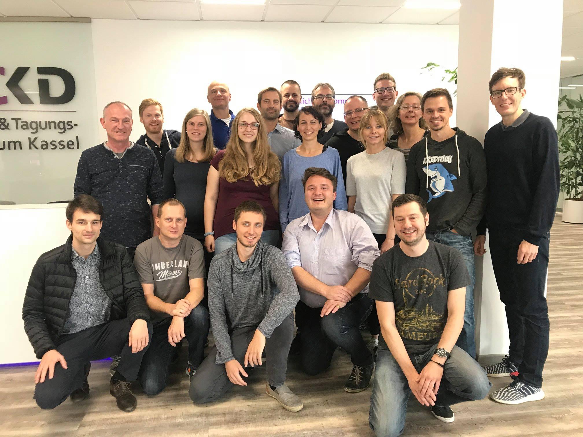 Gruppenfoto Finanzbloggerkonferenz 2018 in Kassel