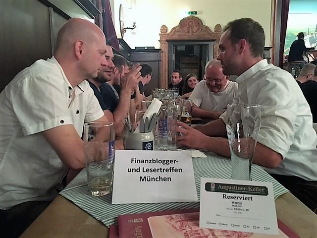 freaky finance, Treffen, Augustiner-Keller München