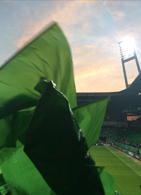 Im Bremer Weserstadion