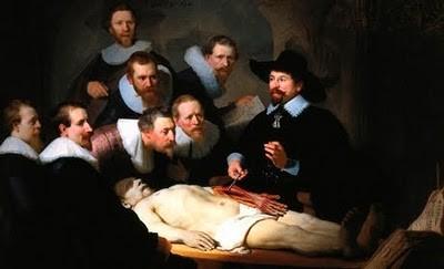 REMBRANDT - leçon d'anatomie