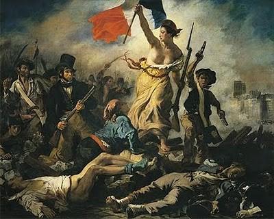 DELACROIX - La liberté guidant le peuple