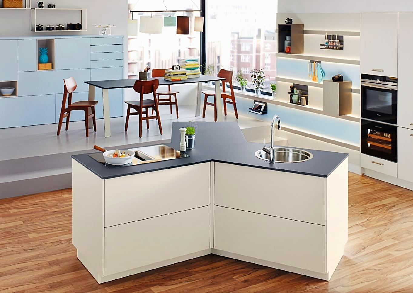 Schüller küchen grifflos  Grifflose Kueche Erfahrung , Vor- und Nachteile - Einbaukuechenwelt