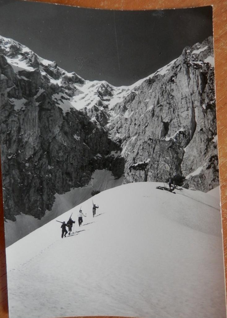"""""""Skitouren gehen"""" - damals !"""