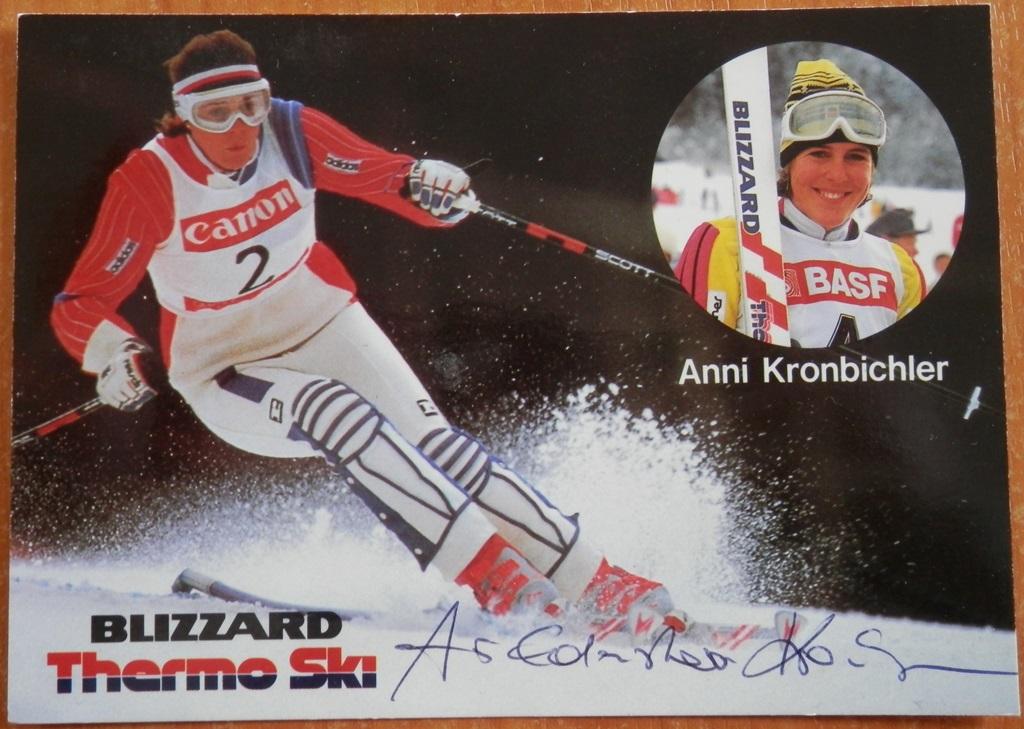Weltcup-Sieg Slalom in Badgastein 1986
