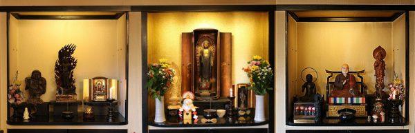 阿弥陀堂の仏さま