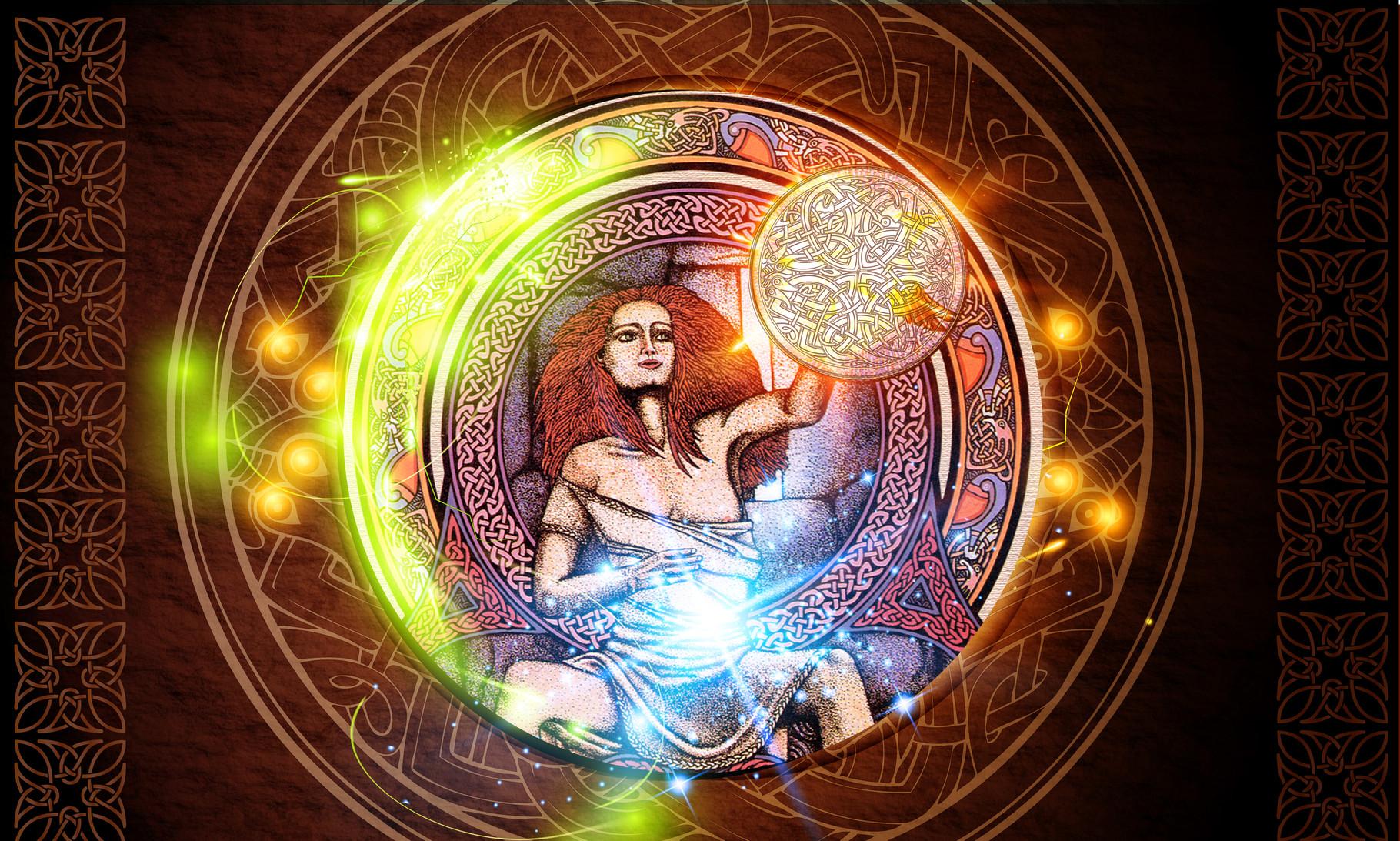 Жрица, женская магия, развитие женского волшебства. Абсолютное Знание. Человек, проводящий эту энергию, знает прошлое и будущее.