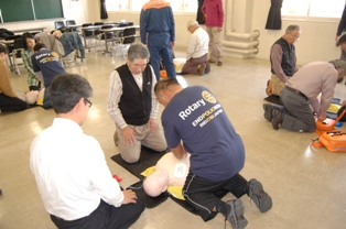 AED普通救命講習会